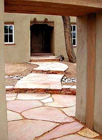 About Arizona Flagstone. Flagstone_path (20113 Bytes)